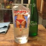 大衆酒場 よっちゃん - 高級グラス
