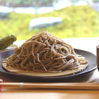 蕎麦正 まつい - 料理写真:ざるそば