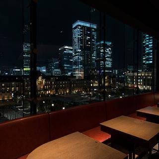 窓側個席確約!!限定1テーブル!東京駅が一望できるコース