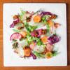本日の鮮魚のカルパッチョ 塩昆布のラヴィゴットソース