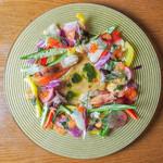 魚介と三浦野菜の輪舞曲 ビスクのソース