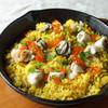 牡蠣と魚介の鉄板ビストロ焼き飯