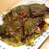 お好み焼 なかの - 料理写真:お好み焼き「豚玉焼」(490円)。