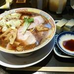 77678756 - サバ醤油そば+サバ寿司