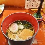 築地玉寿司 - うどん
