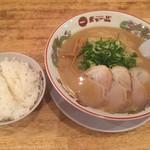 天下一品 - カラアゲ定食950円(大+110円)