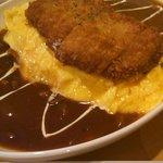 Cafe Place Mu - 2011.2.5 逆オム ハーフ&ハーフ