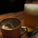 アトリエ バー ティン - フレンチモスコミュールとビール