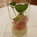 ビストロニック SAKAI - 生ハムとチーズ豆腐