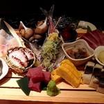 恵比寿魚金 - 六点盛りスペシャル