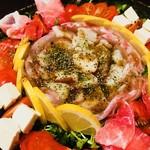 博多 心風 - タコと鯛のカルパッチョ