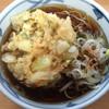 加賀 - 料理写真:かき揚げそば 460円