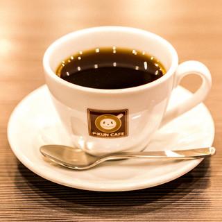 本格コーヒーと多様なお酒