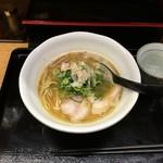 77688460 - ダブル 鶏×魚ラーメン730円