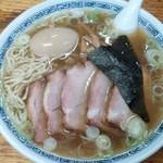 77688829 - 味玉チャーシュー麺(塩中華そば)