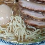 77688834 - 味玉チャーシュー麺(塩中華そば)