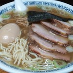 77688839 - 味玉チャーシュー麺(塩中華そば)