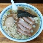 77688842 - 味玉チャーシュー麺(塩中華そば)