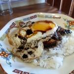 平八郎 - みに焼豚玉子飯