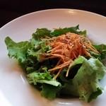 グリル豆の木 - サラダ。