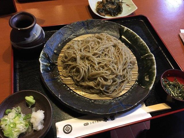石碾き蕎麦 水舎 本店>