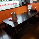 初代麺松 - ファミリーや団体様に人気の掘りごたつ席