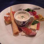 フランコベルゴ - プチディナーコースの前菜