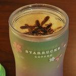 スターバックス・コーヒー - ココア カプチーノのアップ