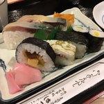 はっとり - 料理写真:寿司定食  京寿司ですね