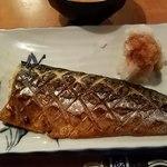 よし乃 - サバ塩焼き
