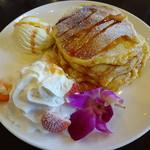 ラ・プリムール - 料理写真:ブリュレ パンケーキ