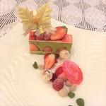 原宿 東郷記念館 - 【フレジェ ピスターチ】ピスタチオペーストとバタークリームの抜群の口溶けを堪能して