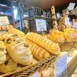 77695744 - 店頭のパンたち