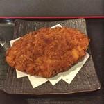 うまいもん酒場 魚鶏 - 日替わり定食のメガメンチカツ
