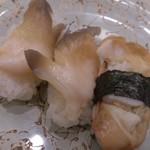回転寿司 すし松 - 活北寄貝