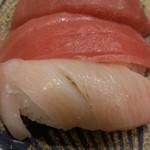回転寿司 すし松 - 本鮪3貫