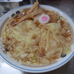 中華そば みたか - 料理写真:ワンタンメン(600円)
