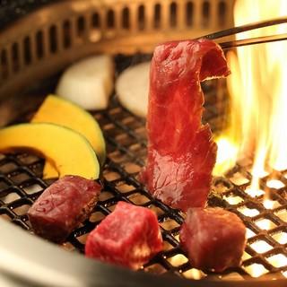 焼肉【新年会】無煙ロースター完備