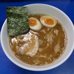 康基 - 「豚骨醤油らー麺+味玉」