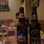 サンサール - ネパールアイスビールとエベレスト
