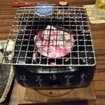 居酒屋 矢三朗 - お通しは炙って。