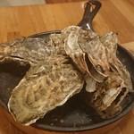 つばめグリル - 牡蠣のオーブン焼き んん?サロマじゃなくなったの?