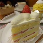 モンブラン - ショートケーキ