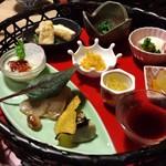 粟 - 料理写真:籠盛り