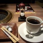 下北あんらく亭 - 有機ホットコーヒー(216円)