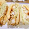コンパル - 料理写真:海老フライサンド