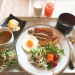 77706958 - 【2017年8月】朝食ビユッフェにて、イタダキマス(#^.^#)。