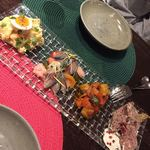 A Plus - 料理写真:前菜4種おまかせ盛り合わせ