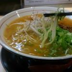 拉麺開花 - 味噌ラーメンの麺