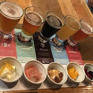 こだわりのクラフトビール!